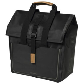 Basil Urban Dry Luggage Pannier Shopper 20l, matt black